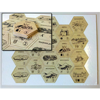 Printed Game Tokens, Tiles & Counters