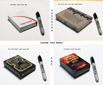 Custom Tuck Boxes