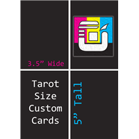 Tarot Size Custom Card Decks