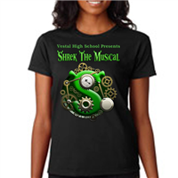 Women's Custom T-Shirts - Chest Design Only