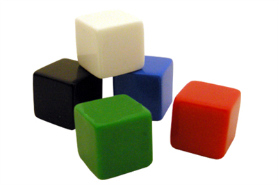 Blank Dice/Counting Cubes